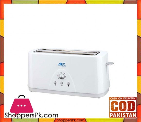 Anex 4 Slice Toaster - AG-3020 - Karachi Only