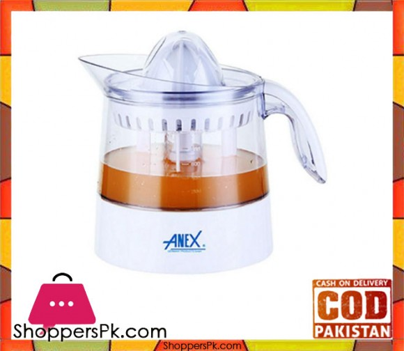 Anex AG-2057 - Citrus Juicer - White - Karachi Only