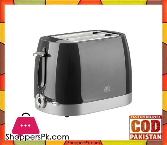 Anex AG-3018 - Slice Toaster - Black - Karachi Only