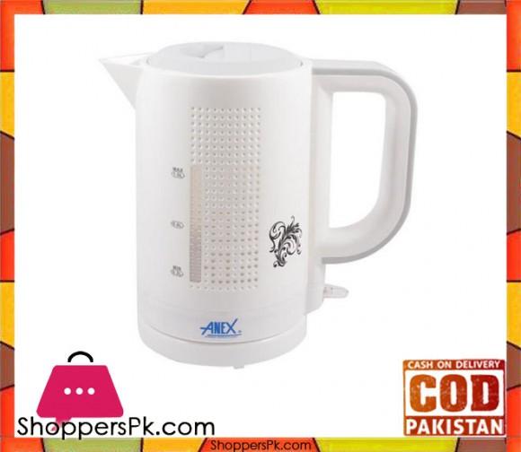Anex Deluxe Kettle 1 Liter - AG-4029 - White - Karachi Only