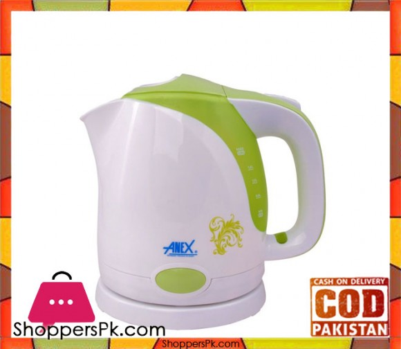 Anex AG-4024 - Kettle 1.5 L - White - Karachi Only