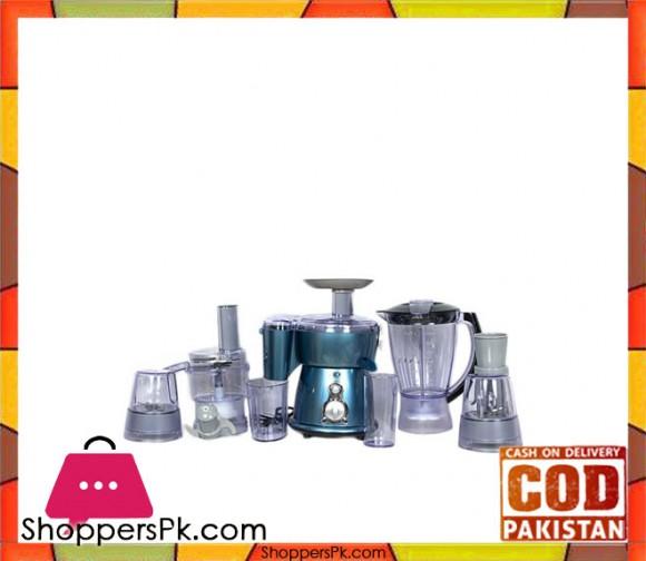 Anex AG-2050B - Food Processor - Blue - Karachi Only