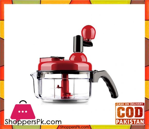 Anex AG-10 - Handy Chopper - 9 Functions - Red - Karachi Only