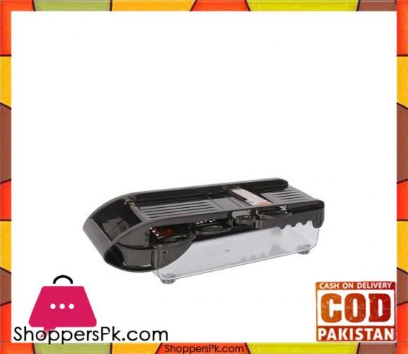 Anex AG-18 - Multi Wonder Slicer & Chopper - 5 Blades - Black - Karachi Only