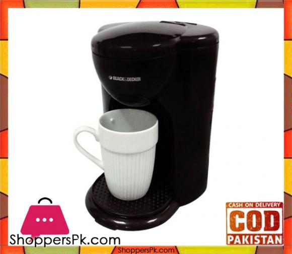 Black & Decker DCM25 - Coffee Maker - Black - Karachi Only