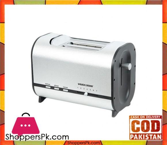 Black & Decker Performance Toaster LET 82 - Silver - Karachi Only
