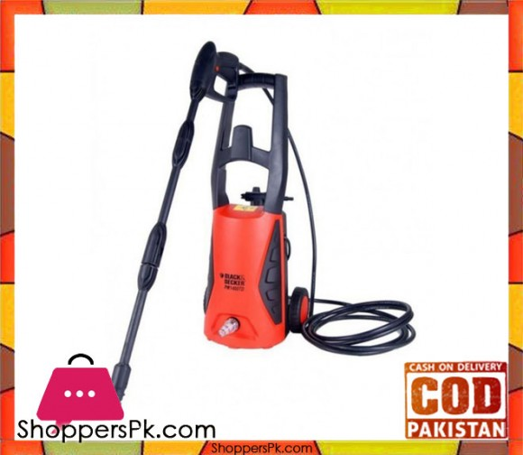 Black & Decker Pressure Washer - 110Bar - PW1400 TDK - Karachi Only