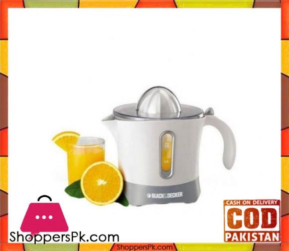 Black & Decker CJ650 - B5 Citrus Juicer - White - Karachi Only