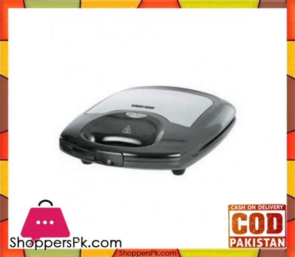 Black & Decker TS 4000 - 4 Slice Sandwich Maker - Black - Karachi Only