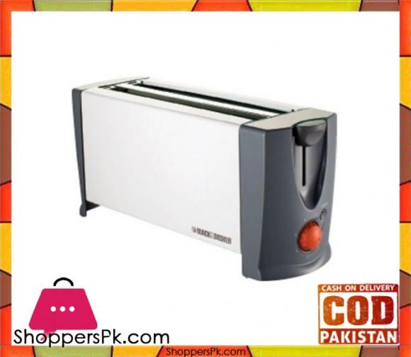 Black & Decker ET-104 - Toaster - 1300 watt - White - Karachi Only