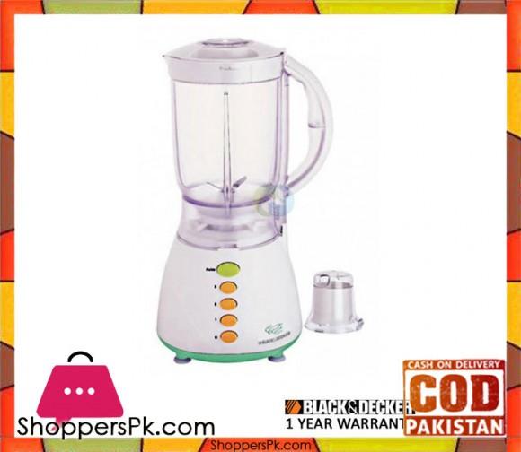 Black & Decker Blender One Mill (350W) (Bx300) - White - Karachi Only