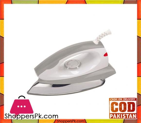 Boss Dry Iron - K.E-DI-233 - White and Grey - Karachi Only