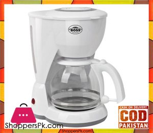 Boss KE-CM-936 - Coffee Maker - White