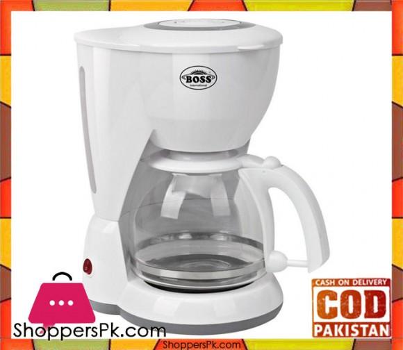 Boss KE-CM-936 - Coffee Maker - White - Karachi Only