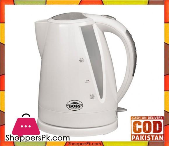 Boss KE-EK-727 - Electric Kettle - White - Karachi Only