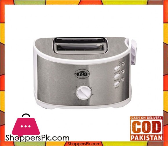 Boss KE-ST-888-S - Toaster - Silver - Karachi Only