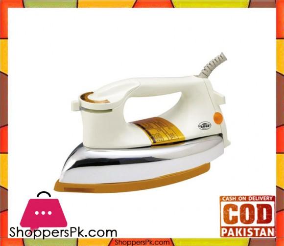 Boss KE-DI-252 - Dry Iron - White - Karachi Only