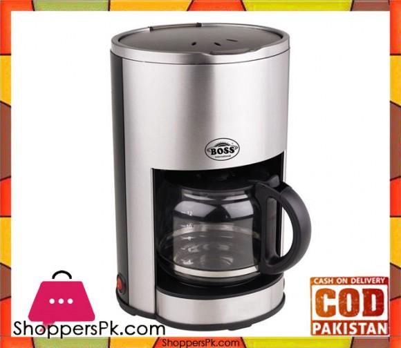 Boss KE-CM-982 - Coffee Maker - Black - Karachi Only