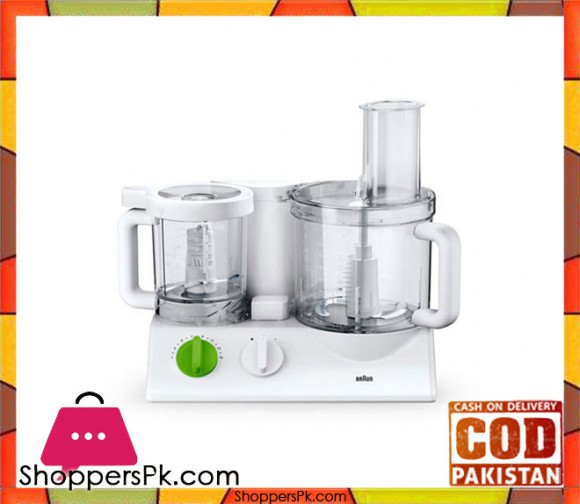 Braun FX-3030 - Tribute Collection ALL in ONE Food Factory - White - Karachi Only