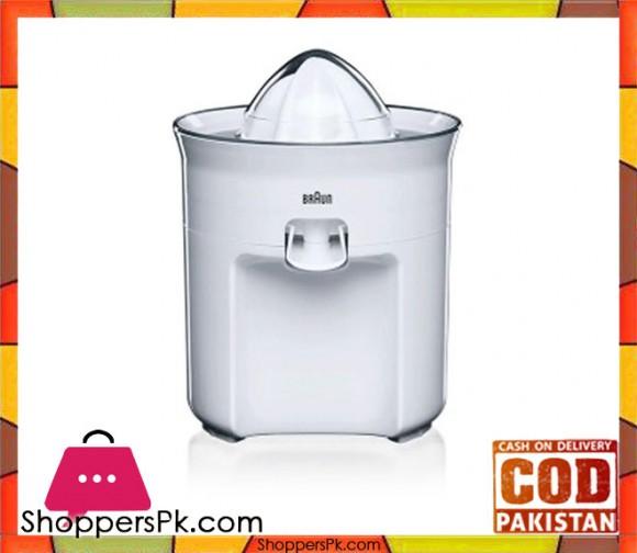 Braun CJ-3050 TributeCollection Citrus Press - White - Karachi Only
