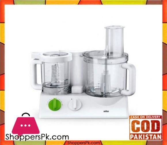 Braun FX-3030 - Food Processor - White - Karachi Only