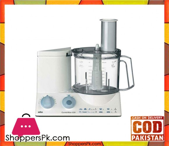 Braun Food Processor - K-650 - White - Karachi Only