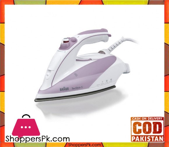 Braun TS-505 - Steam Iron - Purple - Karachi Only