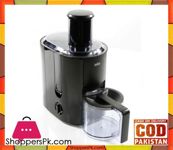 Braun Spin Juicer - Black - Karachi Only