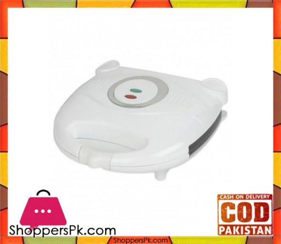 Cambridge Appliance SM 119 - 2 Slice Sandwich Maker - White - Karachi Only