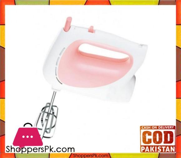 Cambridge Appliance HM 0302 - Egg Beater & Hand Mixer - White & Pink - Karachi Only