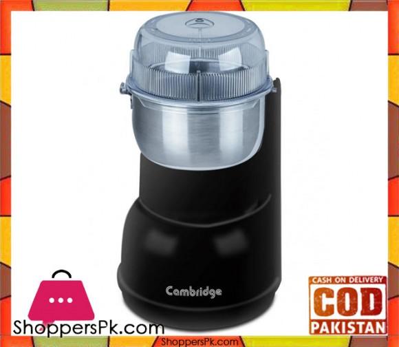 Cambridge Appliance Coffee & Spice Grinder CG 5016 - Black - Karachi Only