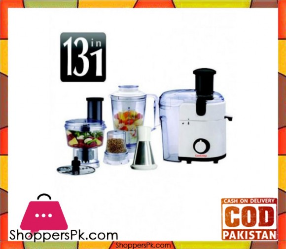Cambridge Appliance FP 745MK2 - Food Processor - White - Karachi Only