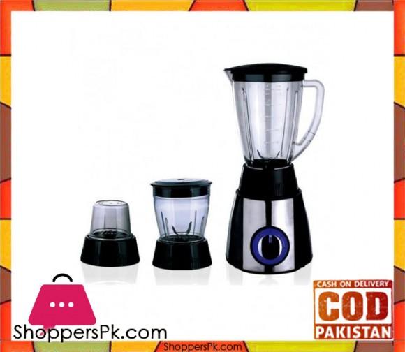 Cambridge Appliance 3 in 1 Blender - BL 2186 - Black & Silver - Karachi Only