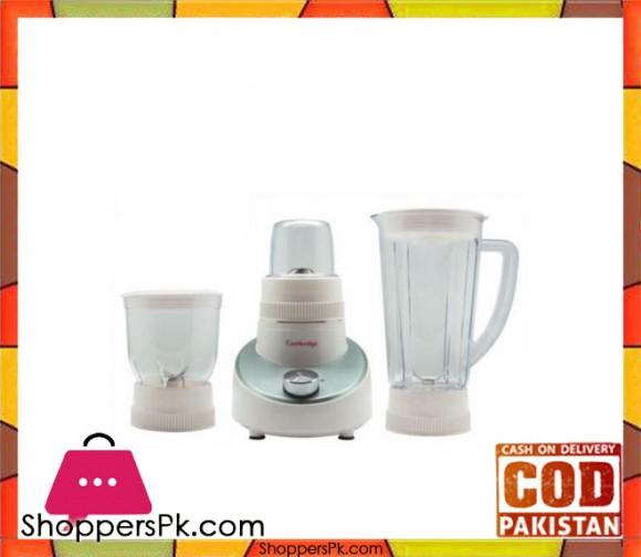 Cambridge Appliance BL2244 - 3 in 1 Blender - White - Karachi Only