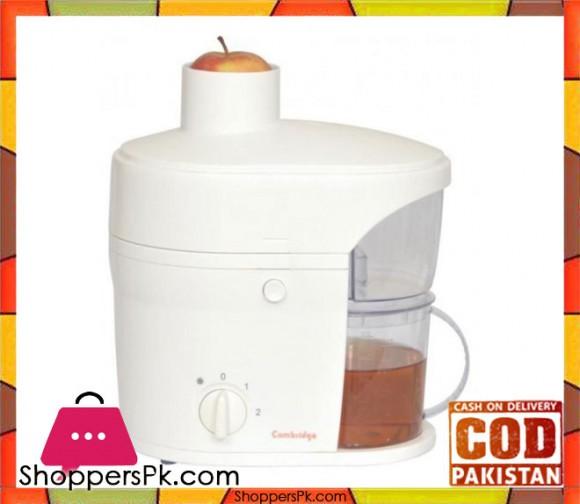 Cambridge Appliance JE41 - Fruit Juicer - White - Karachi Only