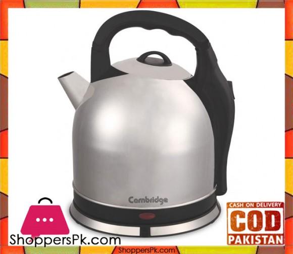 Cambridge Appliance Kettle - SK 4069 - 4 LTR - Silver - Karachi Only