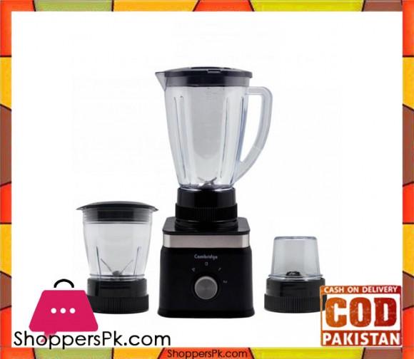 Cambridge Appliance 3 in 1 Blender BL 2236 - 1.5 LTR - Black - Karachi Only