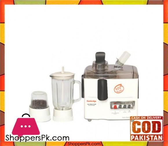 Cambridge Appliance 3 in 1 - Juicer Blender JB6606 - 400W - White - Karachi Only