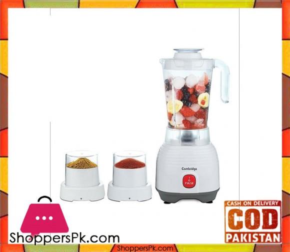 Cambridge Appliance BL 217 - 3 in 1 Blender - White - Karachi Only