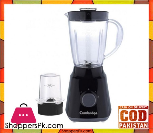 Cambridge Appliance BL-2226 - 2-in-1 Blender - Black - Karachi Only