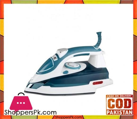 Cambridge Appliance ST 784 - Steam Iron - White & Blue - Karachi Only