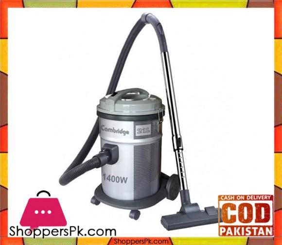 Cambridge Appliance Drum Vacuum Cleaner - VC-102 - Grey - Karachi Only