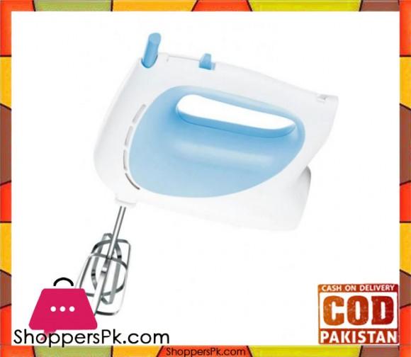 Cambridge Appliance HM 0301 - Egg Beater & Hand Mixer - White & Blue - Karachi Only