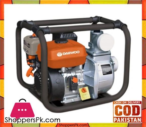 Daewoo GAE80 - Petrol Engine Driven Water Pump - Orange & Black - Karachi Only