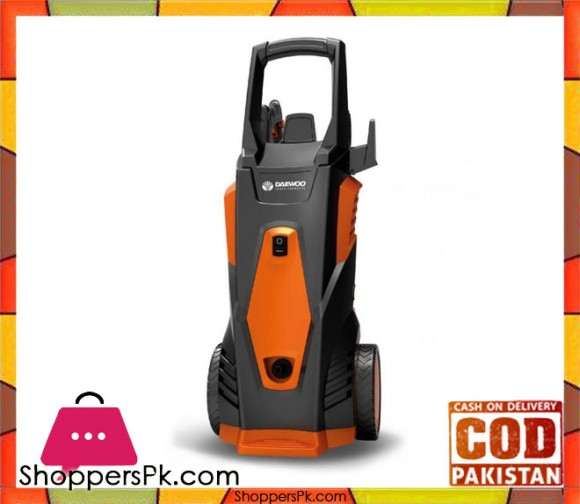 Daewoo DAX100-1700 - High Pressure Car Washer - Orange & Black - Karachi Only