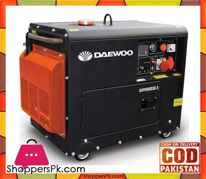 Buy Daewoo Diesel Generator 5 3 Kw Ddae6100se Electric