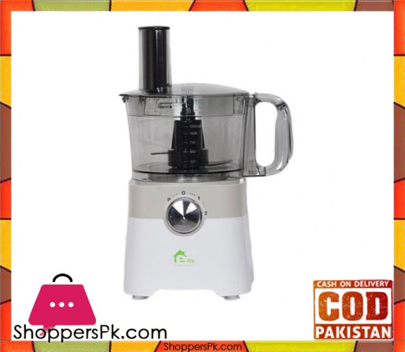 E-Lite Appliances 7 in 1 Multi Function Food Processor - EFP-402 - White - Karachi Only