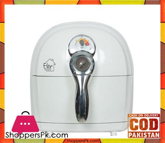 E-Lite Appliances ELAF 800 - Oil Free Air Fryer - White - Karachi Only