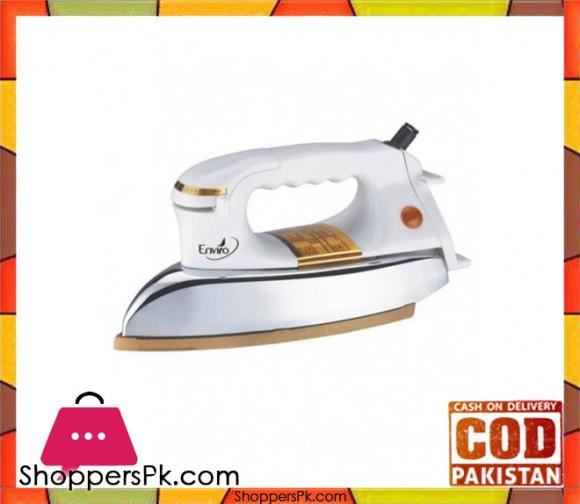 Enviro Heavy Dry Iron - HI 1600 - White - Karachi Only