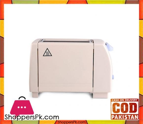 Evatronic 26194 - Toaster - Off-White - Karachi Only